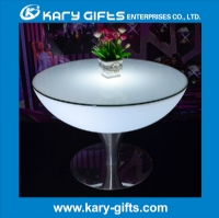 16 kinds Color Remote Control Led Garden Table