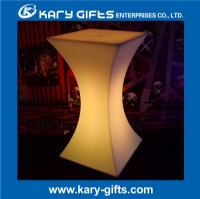 Rechargeable Light Up Glow LED Cocktail Table