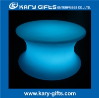 Rechargeable Modern Round LED Coffee Table