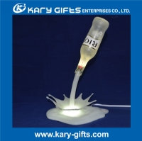 Touch switch LED Beer Bottle Pouring Lamp/3D Printing Pouring light/Wine Pouring Lamp KA-0506