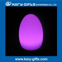 Waterproof outdoor party light Rechargeable egg shape led lighting
